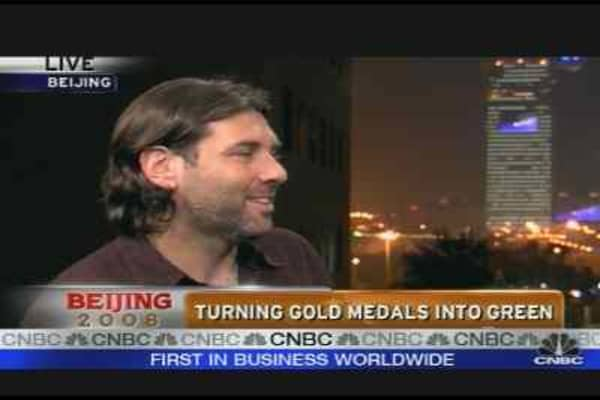Turning Gold Medals into Green