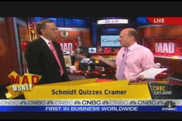 Eric Schmidt on Google, Pt. 2