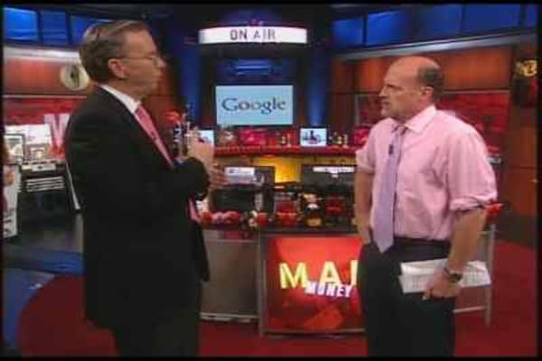 Mad Money Web Extra: Eric Schmidt