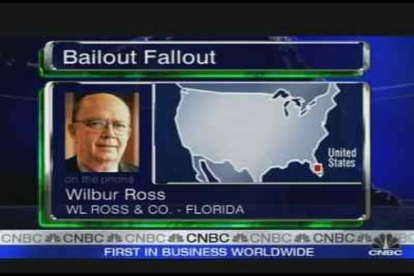 Ross on Bailout Fallout