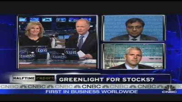 Greenlight for Stocks?