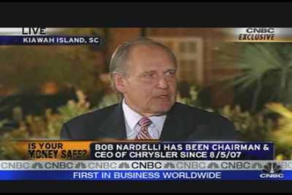Nardelli on Chrysler's Future