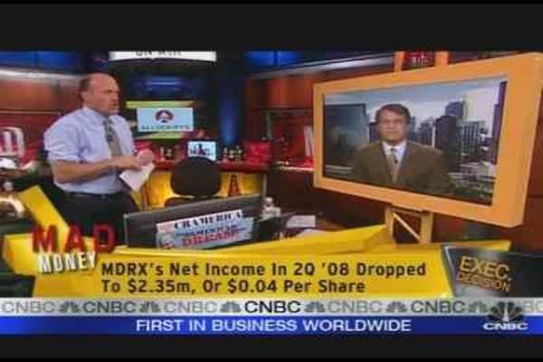 MDRXD CEO On Cash Dividend