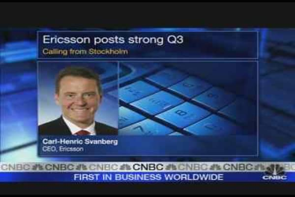 Ericsson CEO on Earnings