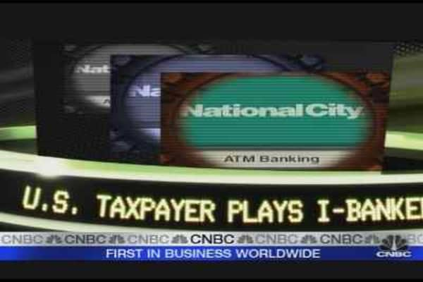 Taxpayers Play I-Banker