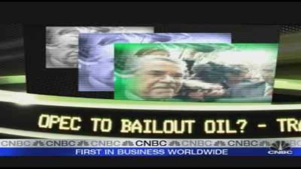 OPEC To Bailout Oil?