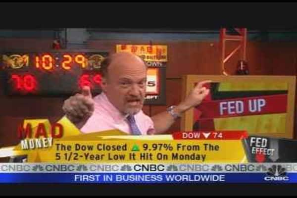 Cramer's Fed Up