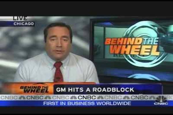 GM Hits a Roadblock