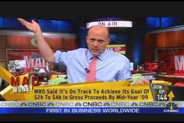 Cramer on MRO's Future