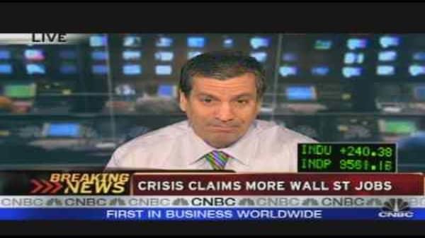 Wall Street Layoffs Loom