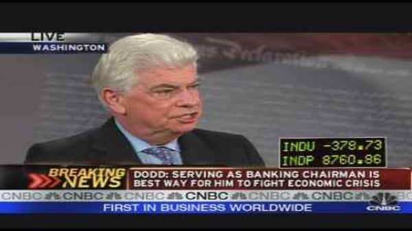 Dodd on Wall St. Reform