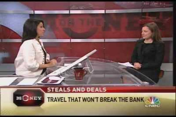 Travel That Won't Break the Bank