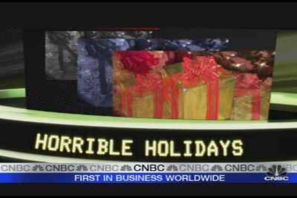 Horrible Holidays Ahead