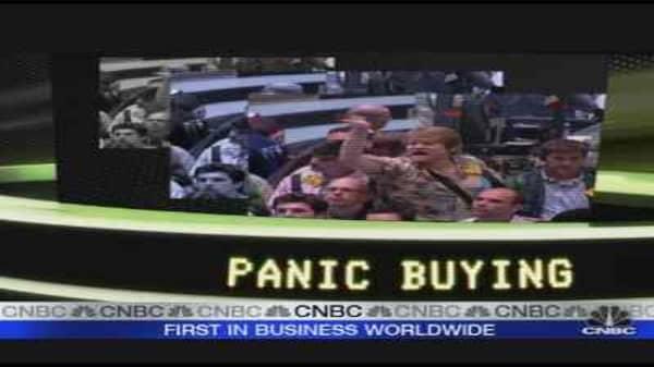 Trade Tomorrow: Panic Buying