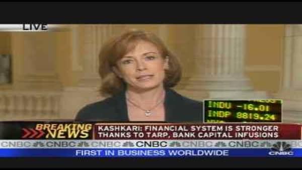 Kashkari Speaks