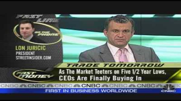 CEO Buying Rises
