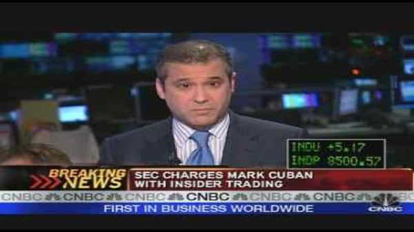 Mark Cuban Charged by SEC
