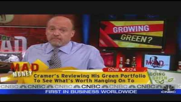 Cramer: Green Is Good for Soul, Not Wallet