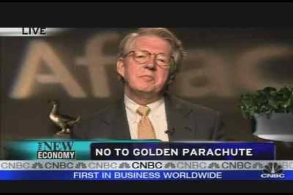 No to Golden Parachute