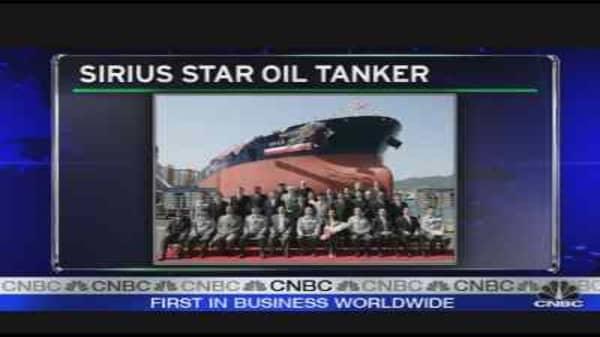 Sirius Star Oil Tanker