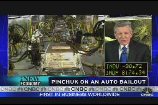 Pinchuk on Auto Bailout