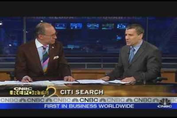 Citigroup's Stock Plunges