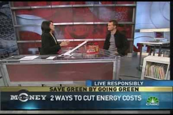 Going Green & Saving Green