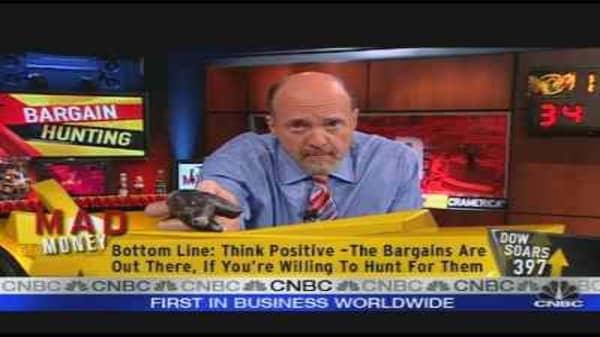 Cramer's Stock Bargains