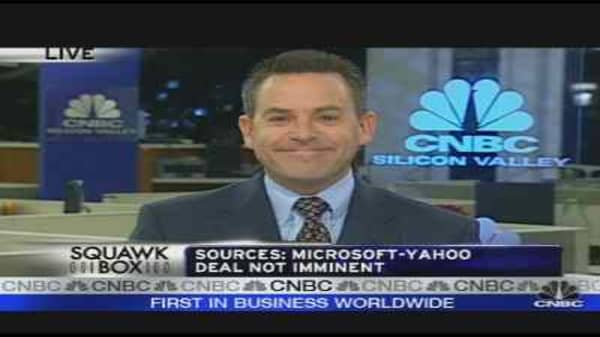 Microsoft-Yahoo Deal Not Imminent