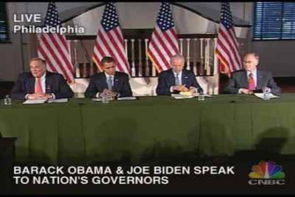 Rendell & Douglas Remarks to Governors