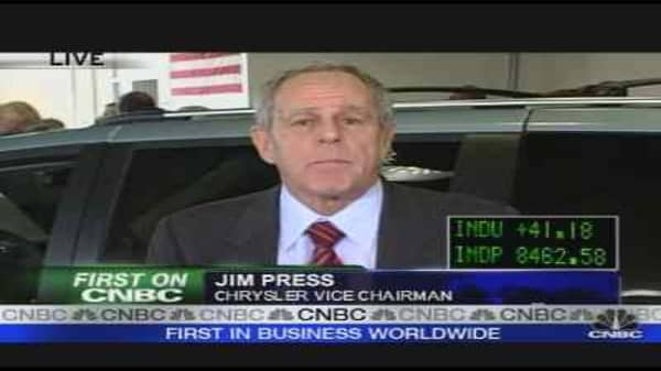 Chrysler Exec on Bailout