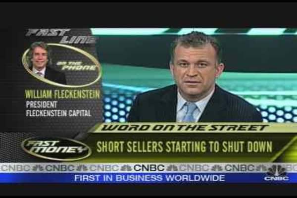 Fleckenstein on Short Sellers