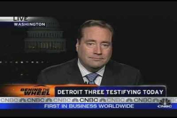 Detroit Three Testify Today