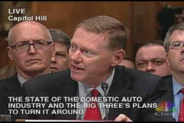 Auto Hearing: Alan Mulally Statement