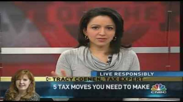 Tax Moves To Make