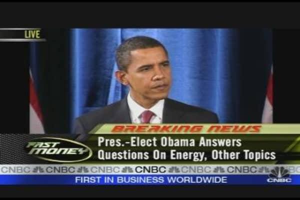 Obama's Energy Team