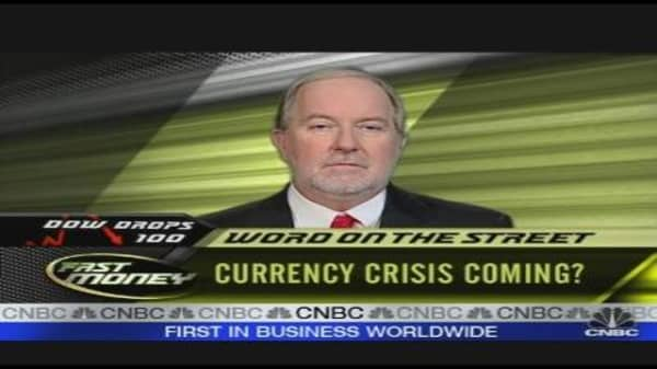 Currency Crisis Coming?
