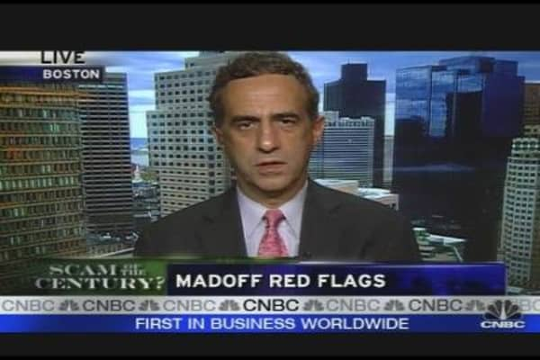 Madoff Red Flags
