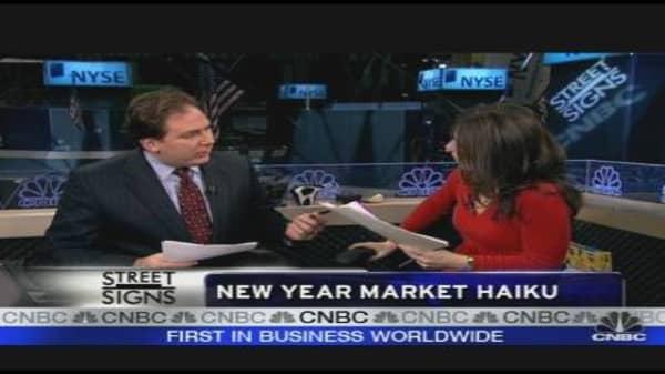 New Year Market Haiku