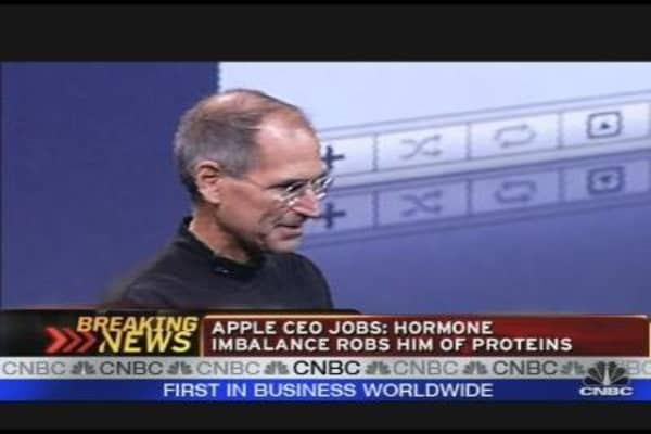 Apple CEO Hormone Imbalance