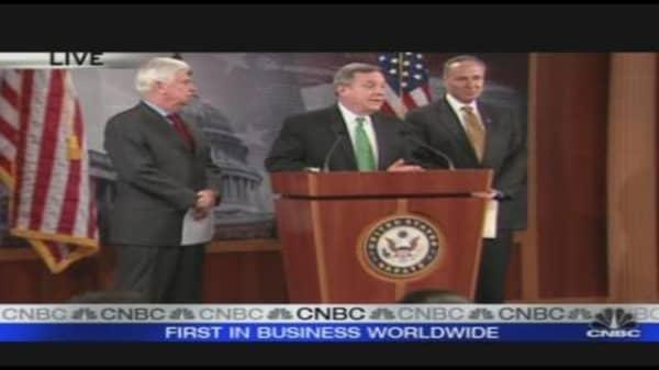 Senators Announce Citi Home Loan Deal