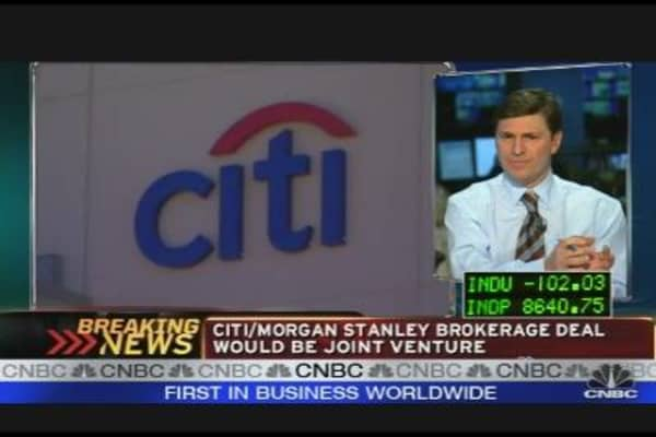 Citi & MS In Talks