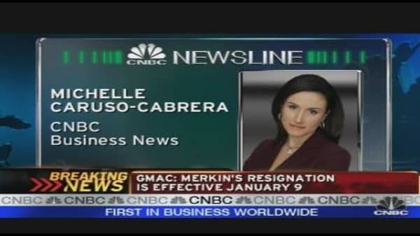 Breaking News: GMAC