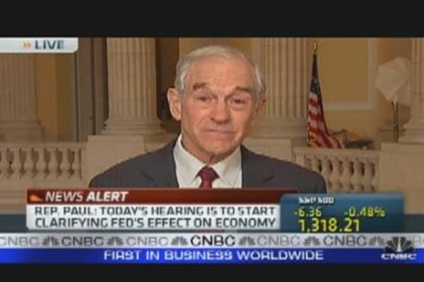 Paul on U.S. Monetary Policy