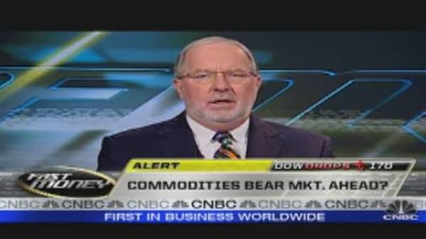 Commodities Bear Market Ahead?