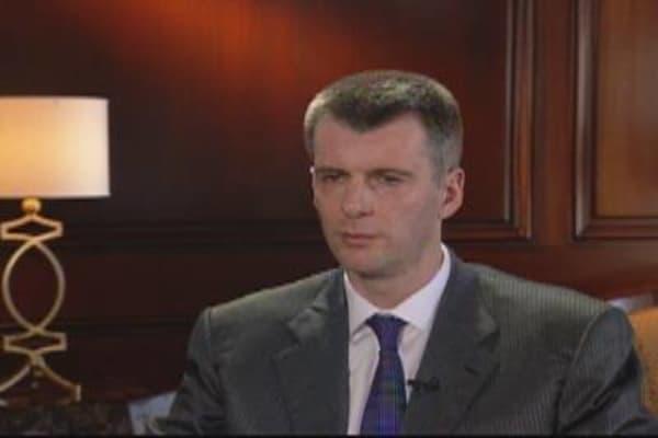 Mikhail Prokhorov, Nets Owner