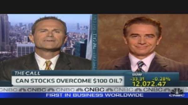 Can Stocks Overcome $100 Oil?