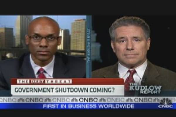 Government Shutdown Coming?