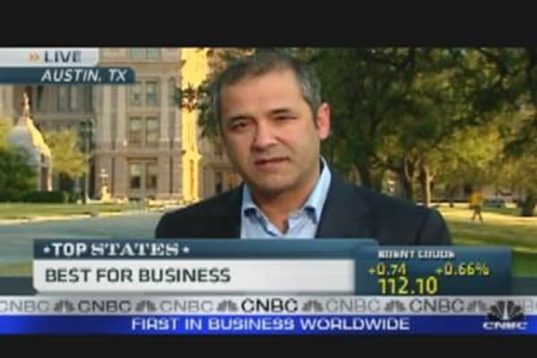 Texas: Top State for Business?