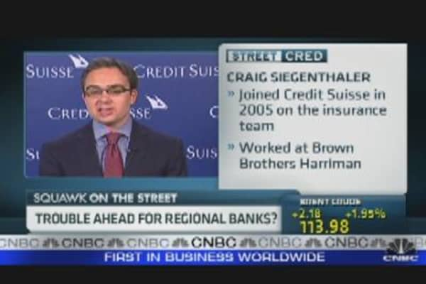 Trouble Ahead for Regional Banks?